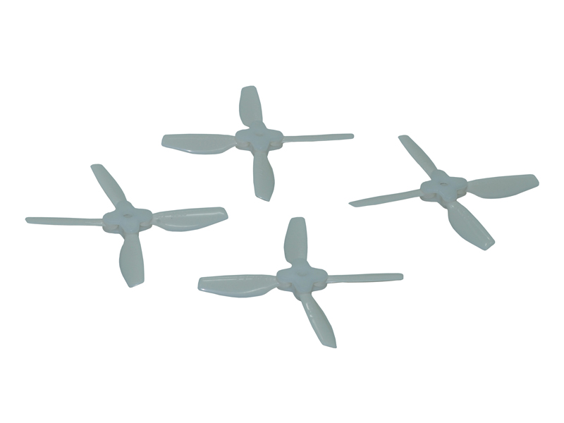 LX2011 - 4045-4 Folding Bullnose Propeller CCW + CW Set - White