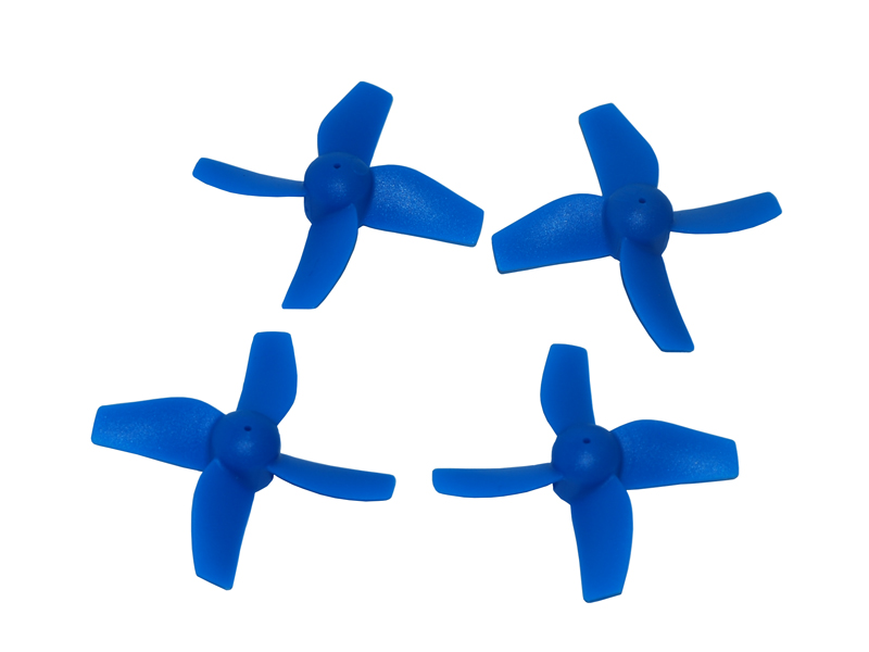 LX2179 31mm-4 Blades - 0.8 Motor Shaft Propeller-CW+CCW Set - Blue
