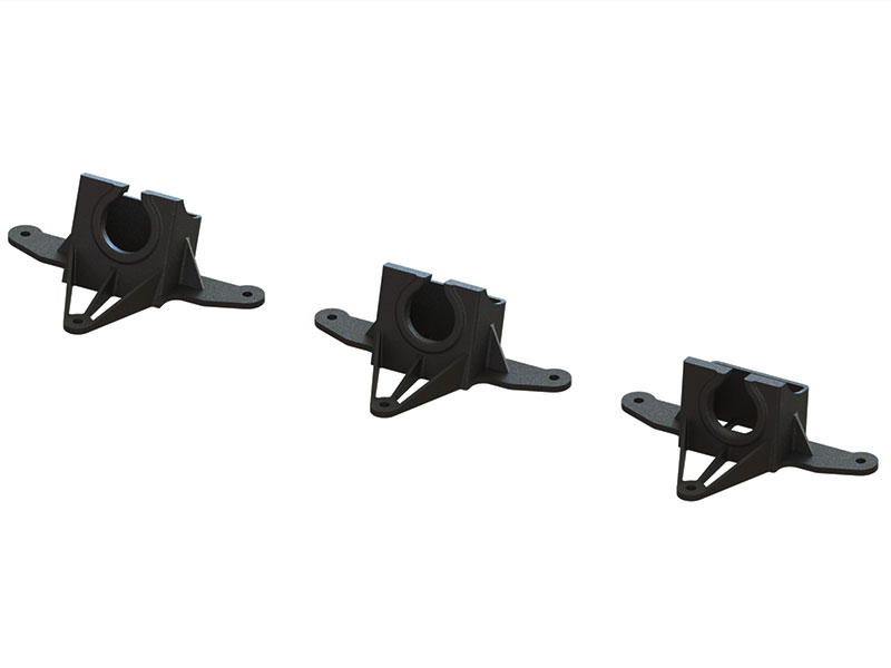 LX2213-3 - FX798SC AIO FPV Camera Mount TPU - 7-15-20 deg Set - Black