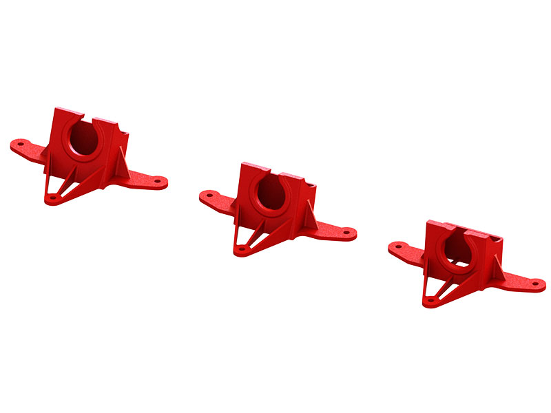 LX2213-5 - FX798SC AIO FPV Camera Mount TPU - 7-15-20 deg Set - Red