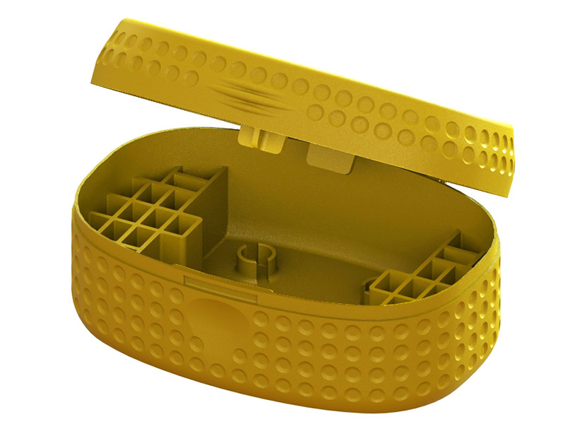 LX2383-16 DOT Edition Plastic Case 65 mm Micro FPV, T - Gold Color