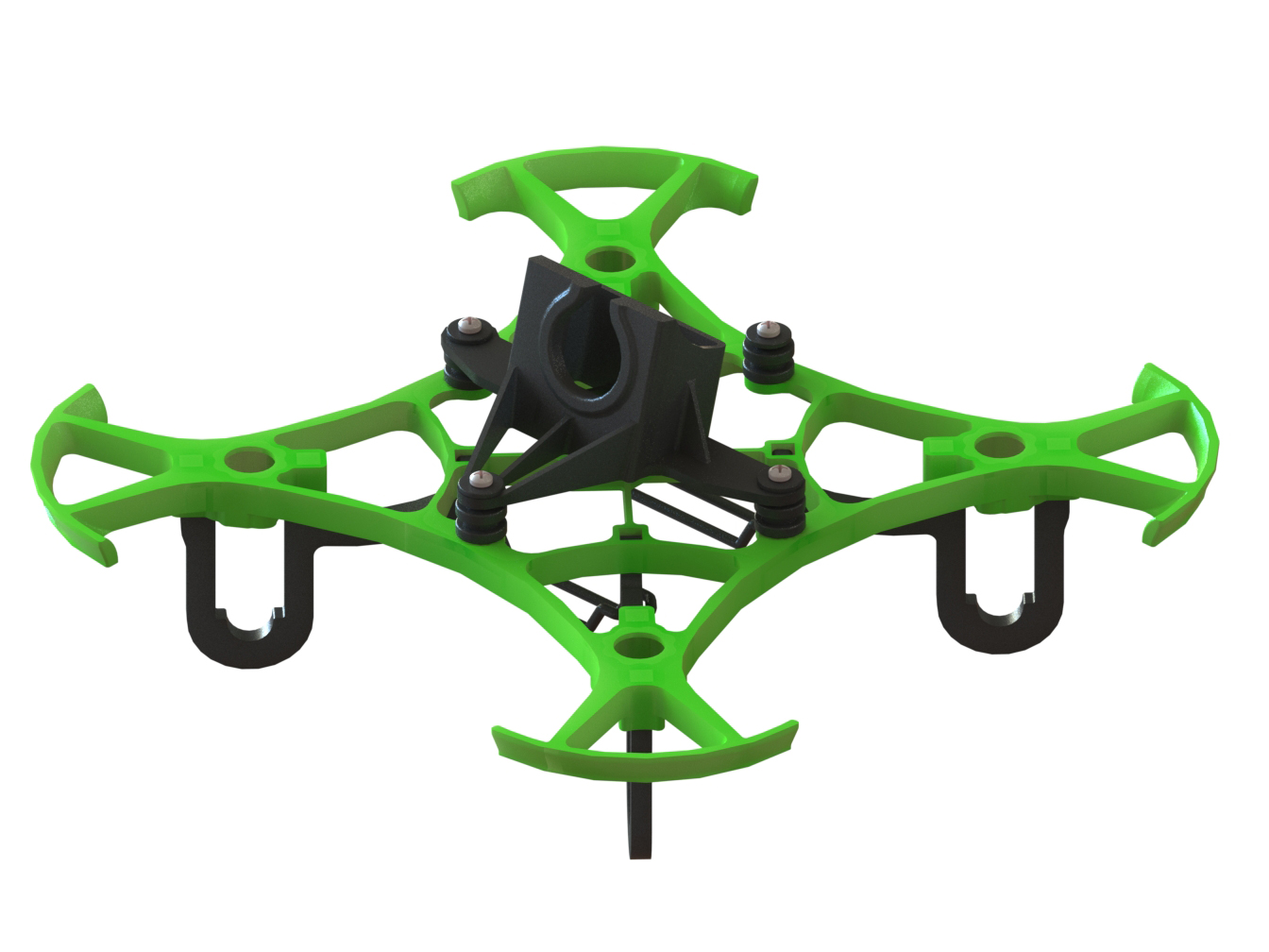 LX2411-2 - Pika 65 FPV Racer, Green Color