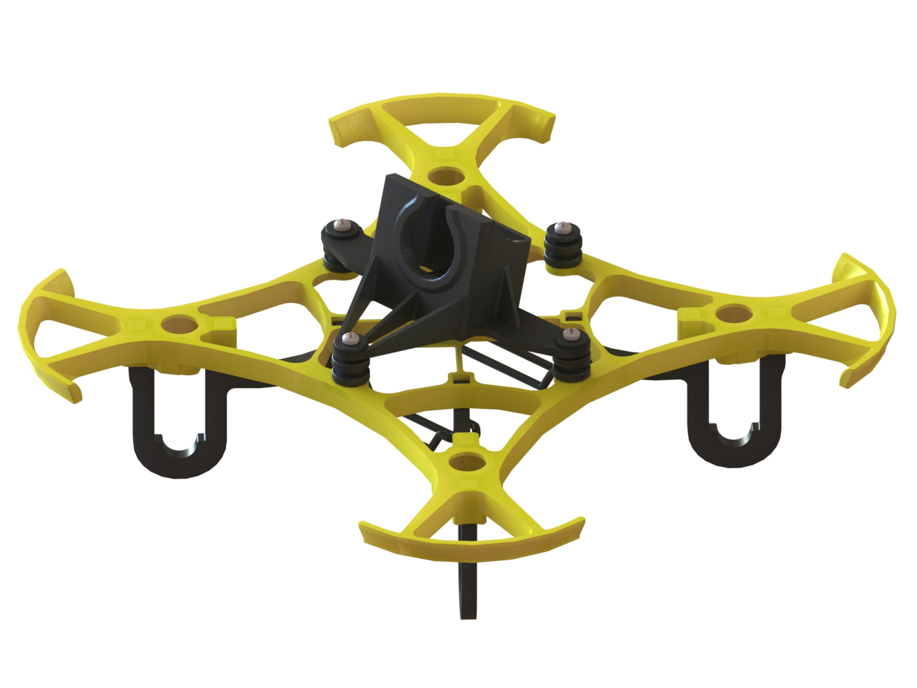 LX2411-4 - Pika 65 FPV Racer, Yellow Color