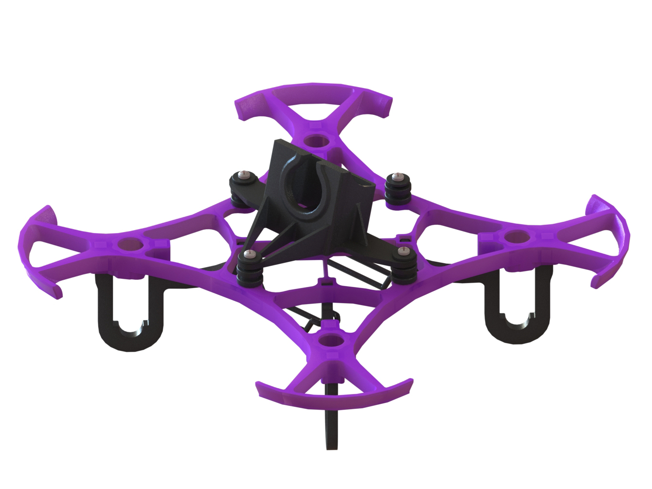 LX2411-6 - Pika 65 FPV Racer, Purple Color