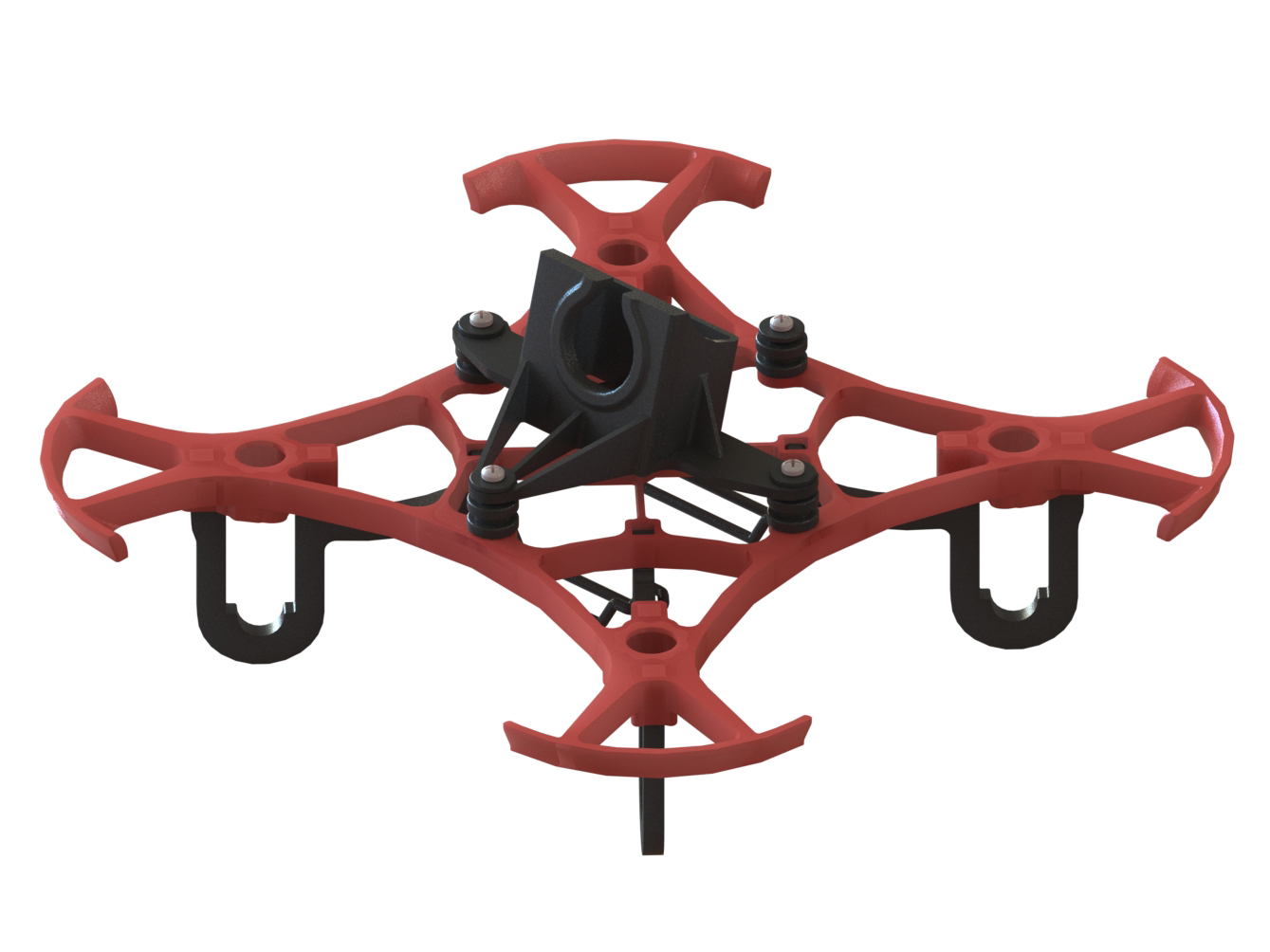 LX2411-7 - Pika 65 FPV Racer, Red Color