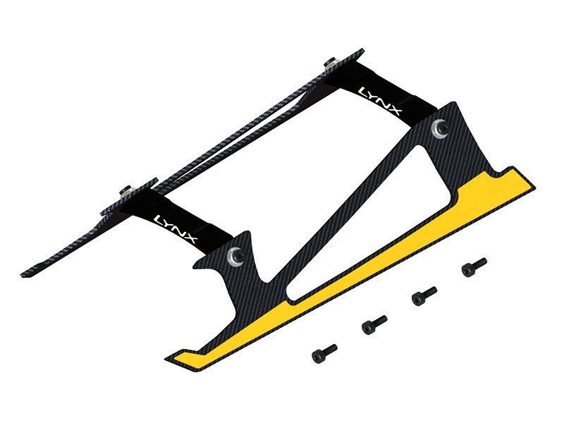 LX2532-3 - Fireball 280 - Low Profile Landing Gear, Black Color