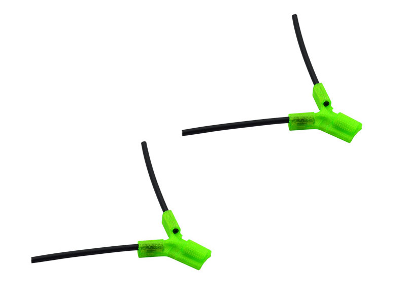 LX2549-2 TPU - Antenna Holder Type B, Green Color