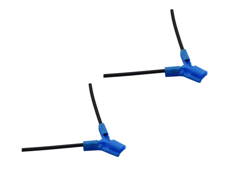 LX2549-5 TPU - Antenna Holder Type B, Blue Color