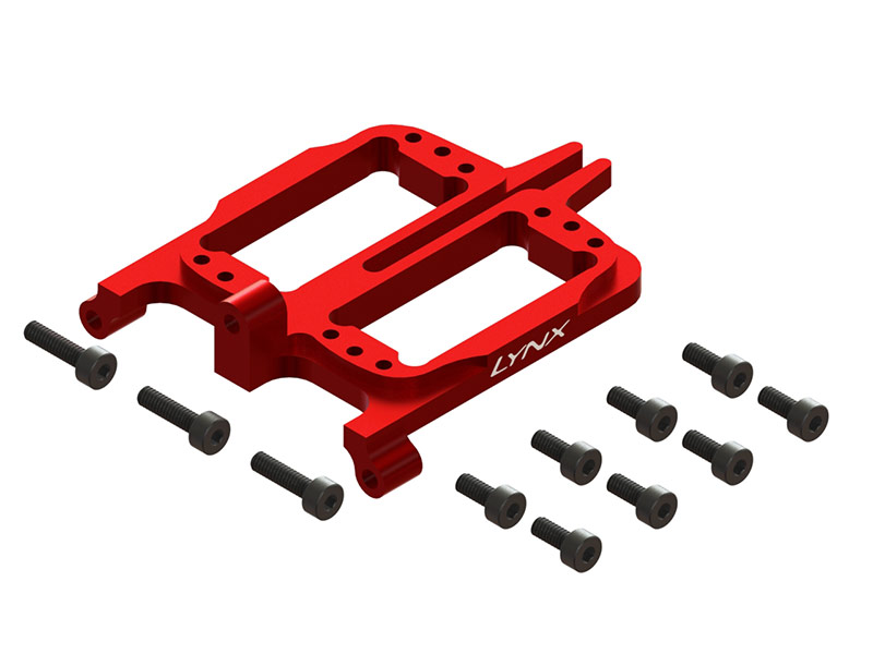 LX2554-7 - FireBall 280 - Front Servo Support, Red Color