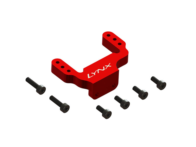 LX2555-7 - FireBall 280 - Back Servo Support, Red Color