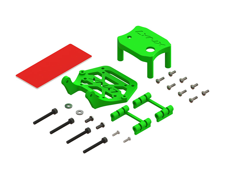 LX2624-2 - Torrent 110 - Soft Mount Support Set - 20x20 FC - Micro Swift Camera, Green Color