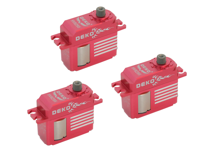 LX3024 DEKO HV6295 Digital Mini Servo, 3pc