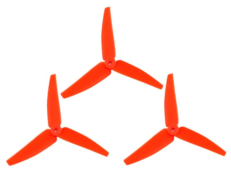LX3P200SRX-821 - 200SRX/ 230S/200S/250CFX - Lynx Plastic 3 Bladed Propeller 82 mm - Orange