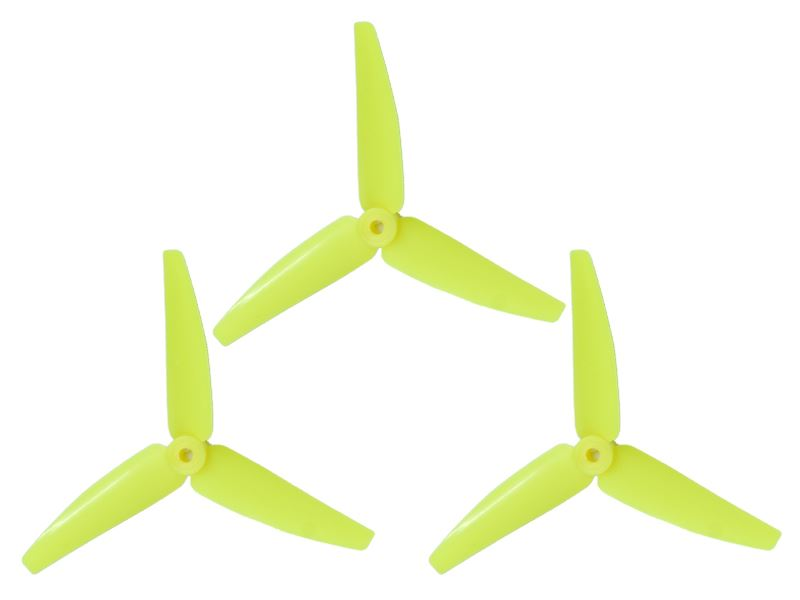 LX3P200SRX-824 - 200SRX/ 230S/200S/250CFX - Lynx Plastic 3 Bladed Propeller 82 mm - Yellow