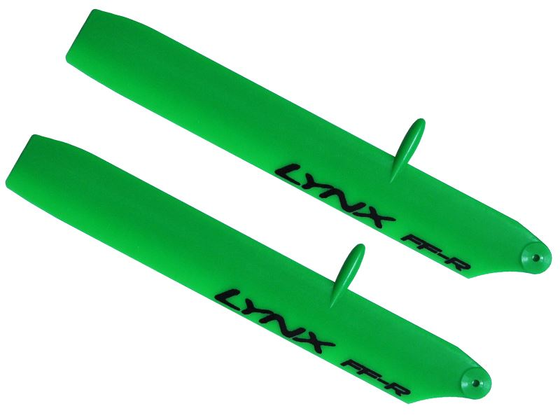 LX61352-SP-R - Plastic Main Blade 135 mm - Bullet - 130X - Replica Edition - Green