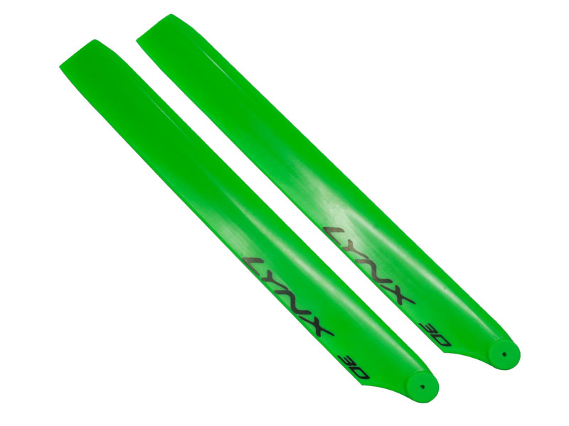 LX62402 - 230S - Lynx Plastic Main Blade 240 mm - Green