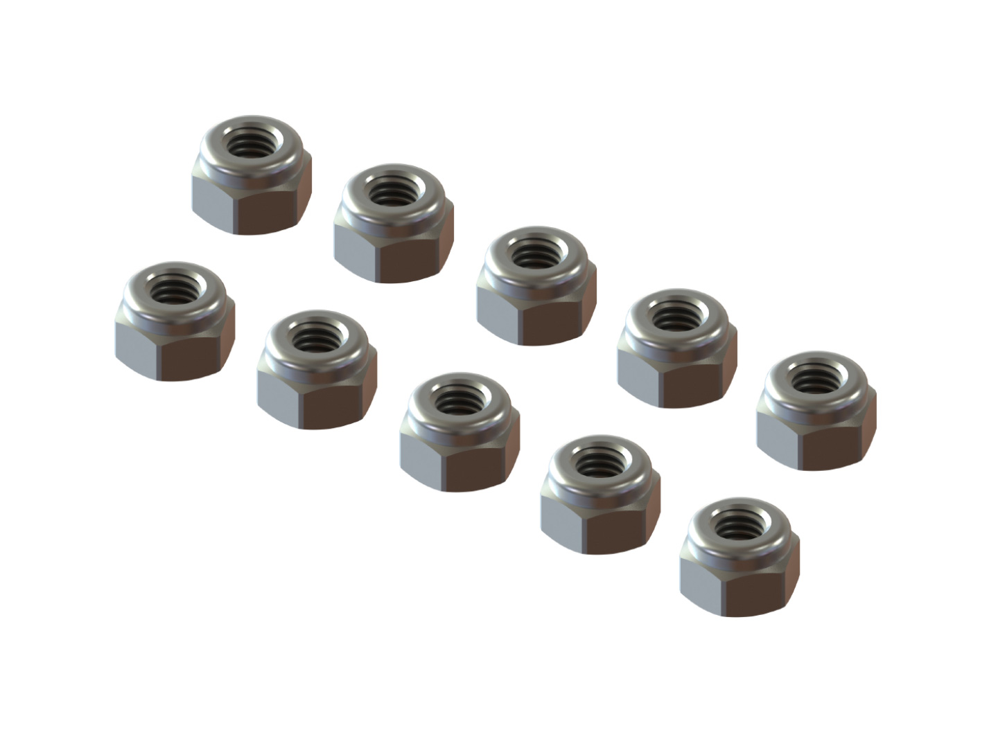 M2.5-SLN-10 SELF LOCK NUT M2.5