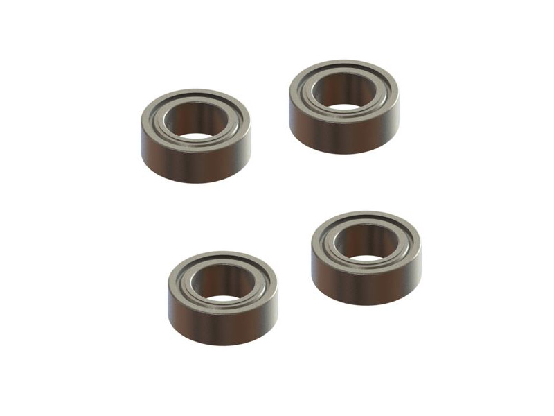 MR74ZZ-4 - Radial Bearing 4x7x2.5, 4 PCS