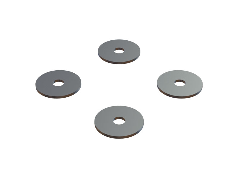 OSP-1116 OXY4 - 0.5mm Tail Blade Adjustment Shim, Set
