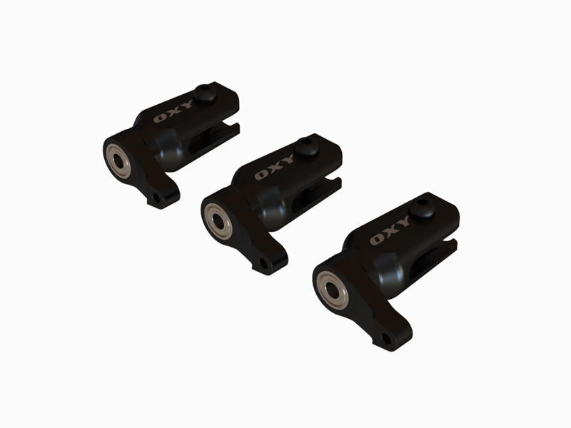 OSP-1122 OXY3 - Qube Main Grip 3pc, Black