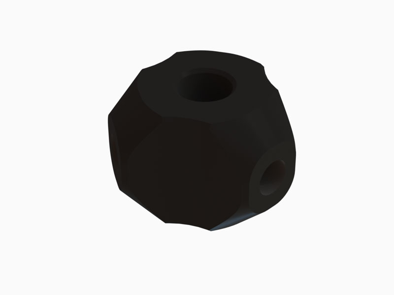 OSP-1148 OXY3 - Qube Tail Hub, Black