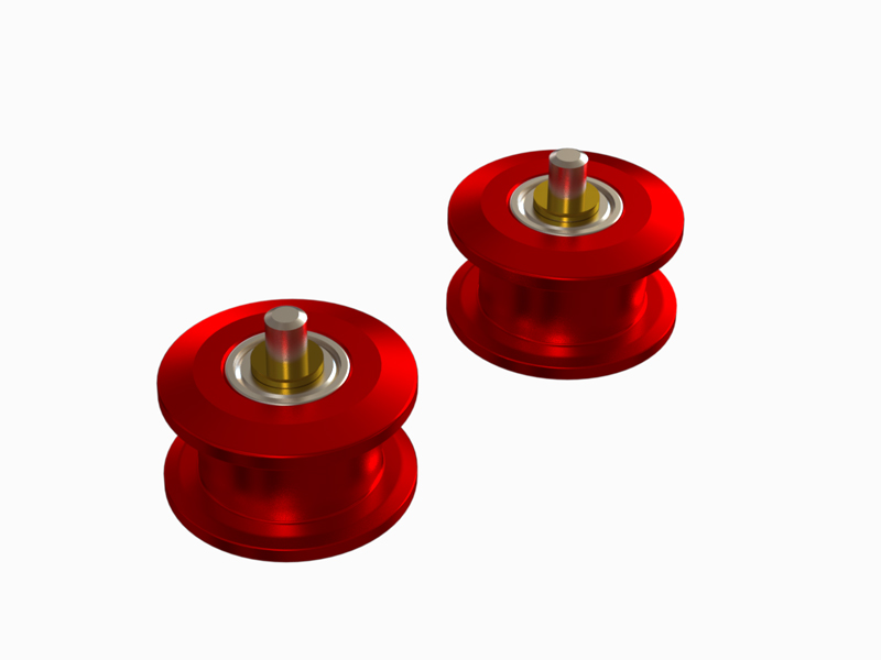 OSP-1174 OXY4 Pro Edition Belt Pulley Guide, Set