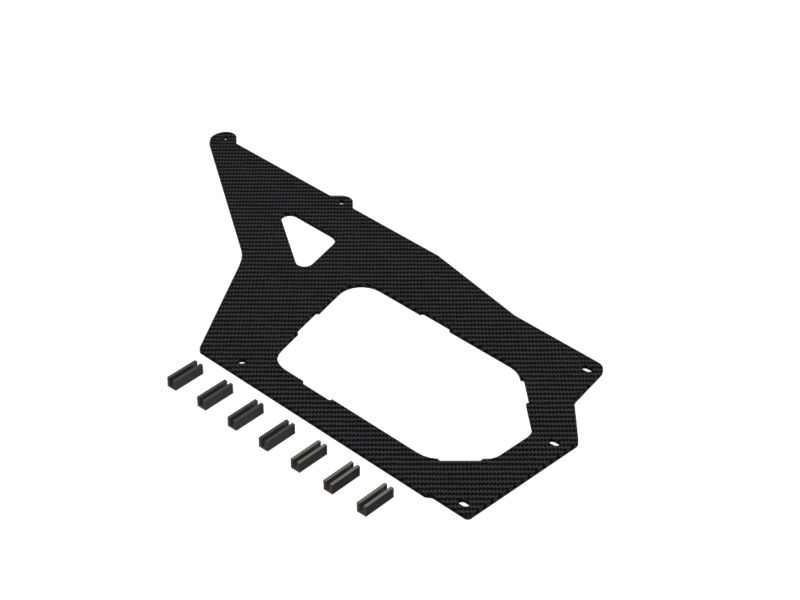 OSP-1447 - Nitroxy5 Rear Plate