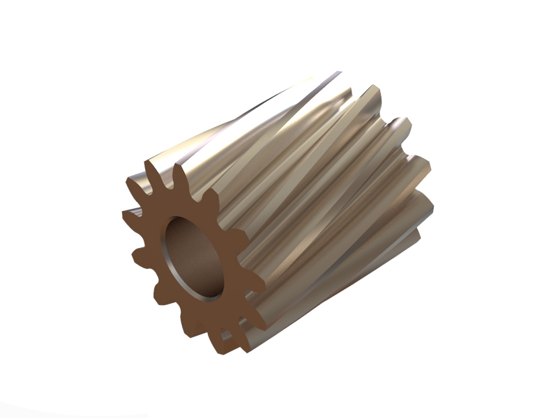 OSP-1458 - OXY2 Helicoidal Pinion 13T - 2.5mm Motor Shaft
