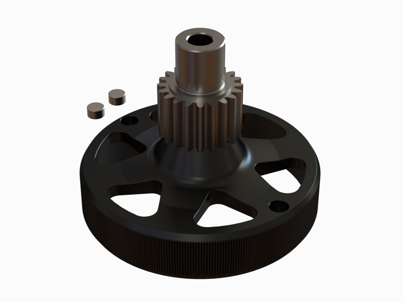 OSP-1488 - Nitroxy5 Clutch Bell 20T Pinion