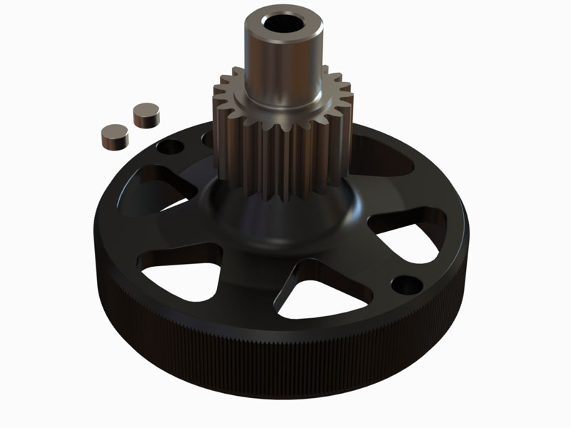 OSP-1489 - Nitroxy5 Clutch Bell 21T Pinion