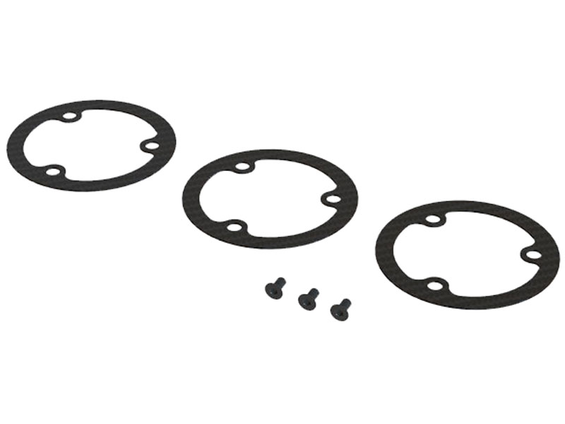 SP-OXY2-124 - OXY2 - Main Pulley Flange, 3Pcs