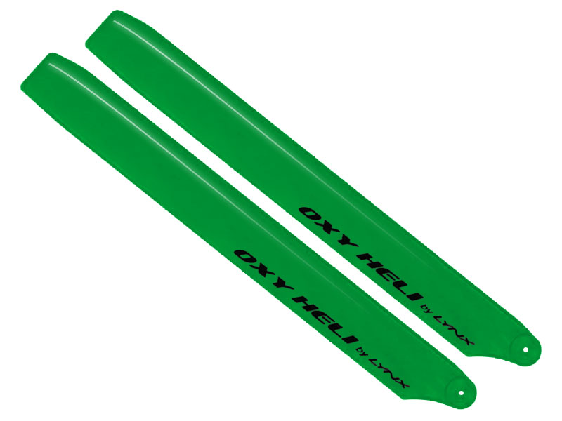 SP-OXY3-153 Plastic Main Blade 250mm, Green