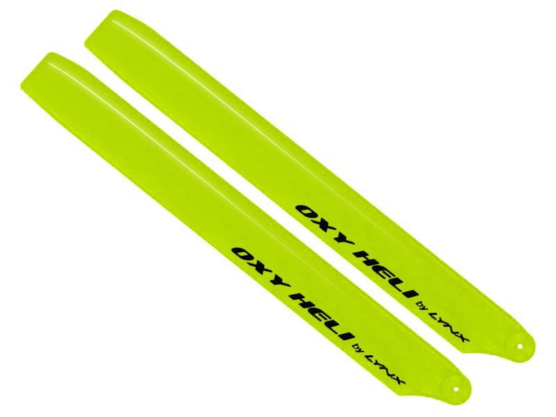 SP-OXY3-154 Plastic Main Blade 250mm, Yellow