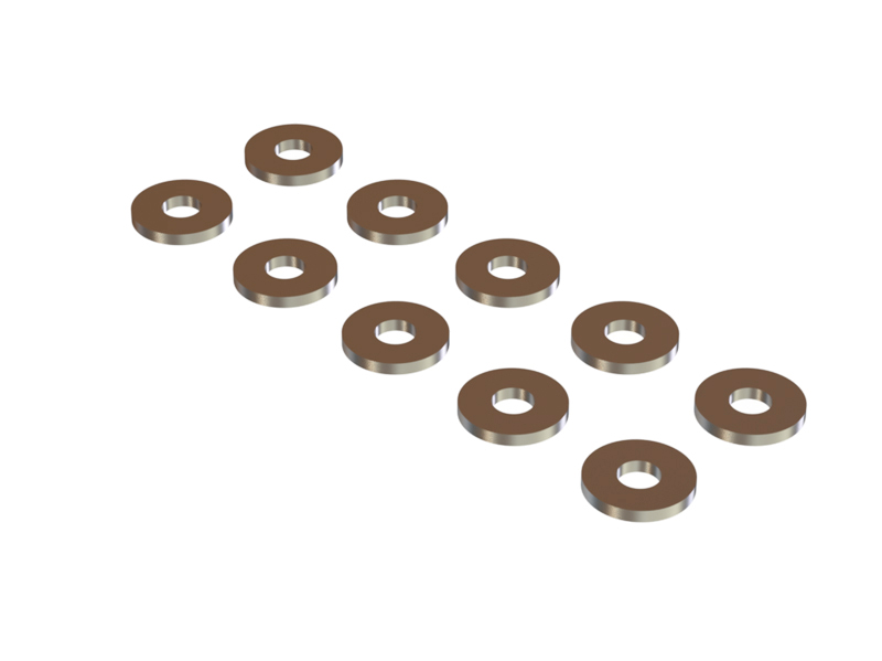 WM30-80-10  Washer 3x8 W1.0, 10 pcs