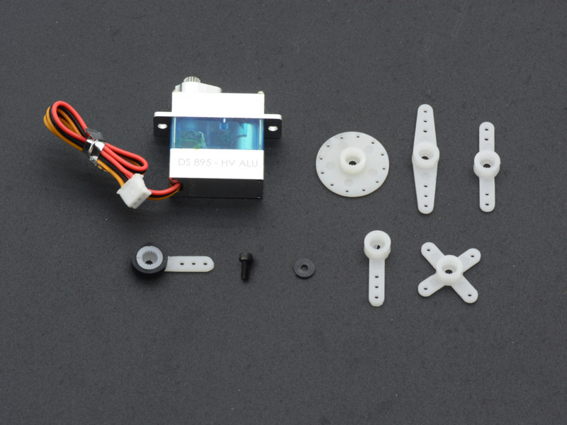 LX2512 Lynx Servo DS-895-HV_Aluminum CNC Case - 1PC Set