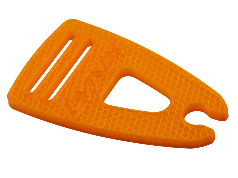 LX2537-1 LOGO 700 - Blade Holder, Orange Color