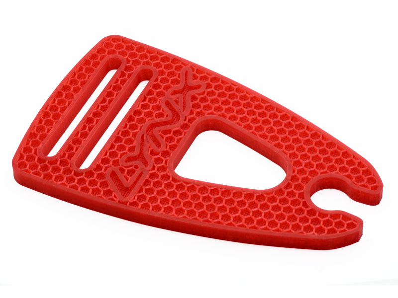 LX2537-7 LOGO 700 - Blade Holder, Red Color