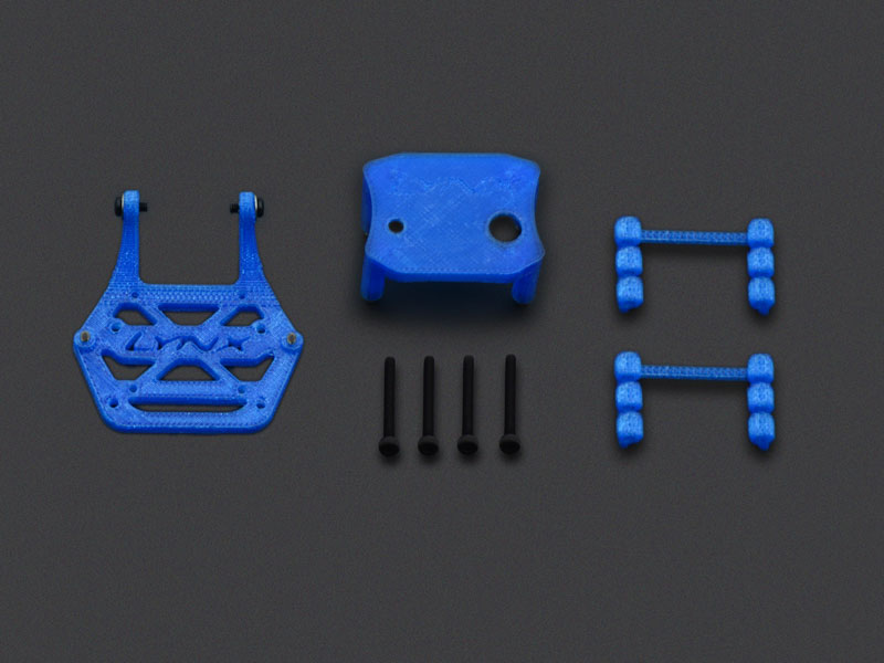 LX2624-5 - Torrent 110 - Soft Mount Support Set - 20x20 FC - Micro Swift Camera, Blue Color