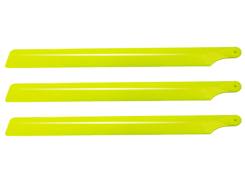 SP-OXY2-144 Plastic Main Blade 190 mm, 3pc, Yellow