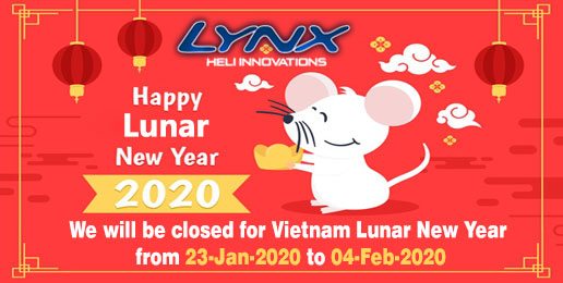 HAPPY LUNAR NEW YEAR 2020